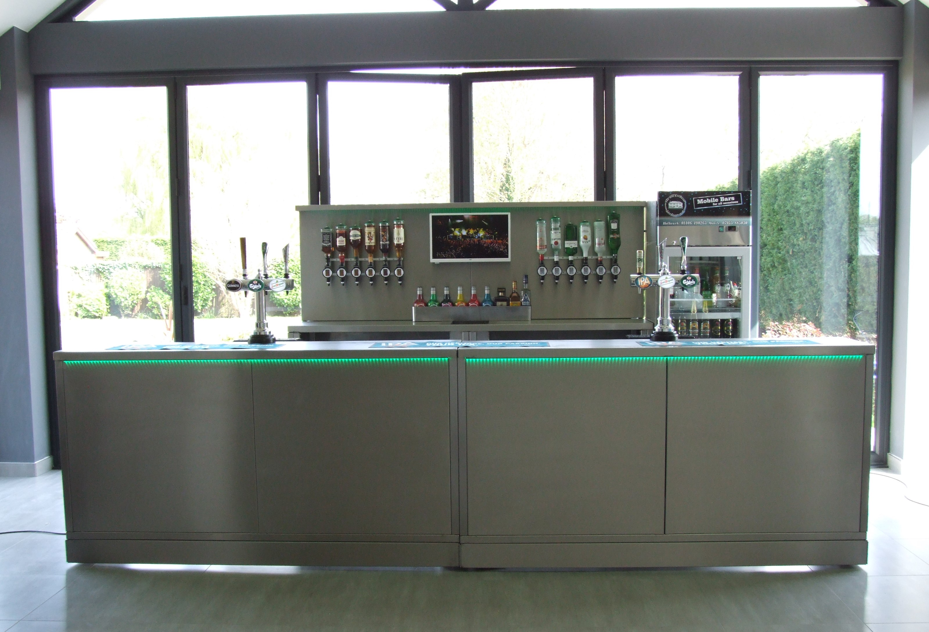 Bespoke Bar Units Manufactured For A Local Family Run Business